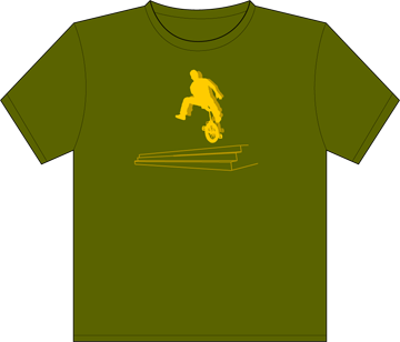 Unicycle Tshirt Picture