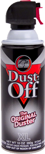 Dust-off canister